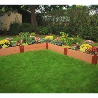 Frame It All Raised Garden L-Shaped 2-inch (12' x 12') 2 Level