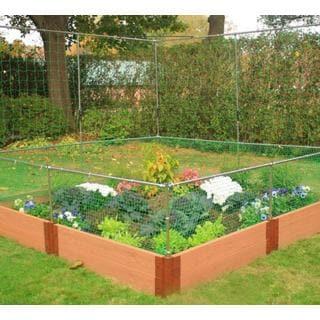 Frame It All Raised Garden 1-inch (8' x 8') 2 Level c/w 2 Animal Barrier