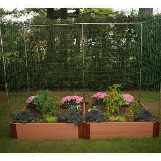 Frame It All Raised Garden 2-inch (4' x 8') 2 Level c/w 2 Veggie Wall