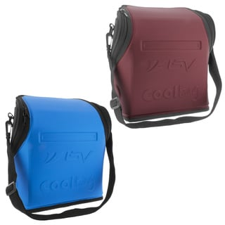 BV Insulated Handlebar Cooler Bag for Warm or Cold Items, Shoulder Strap & Quick-Release Handlebar Mount, Available in 2 Colors