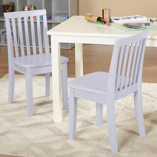 Simple Living Alice Kids Chair, Set of 2 (Option: Alice Lavender chairs, set of 2)