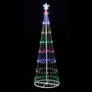 LED 344 Multi Light Show Tree 9' x 36""