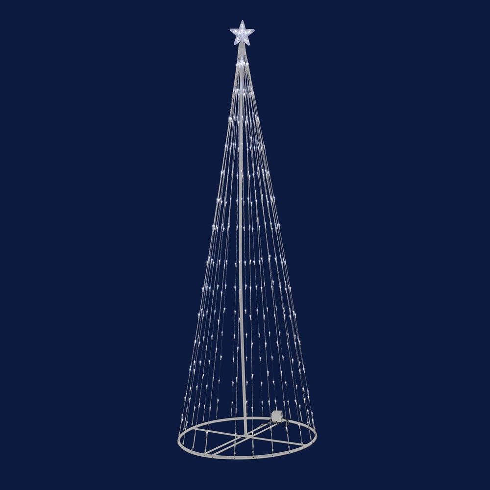 "Vickerman LED 152 Warm White Light Show Tree 4' x 24"" (4'..."