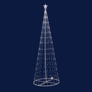 "LED 152 Warm White Light Show Tree 4' x 24"""
