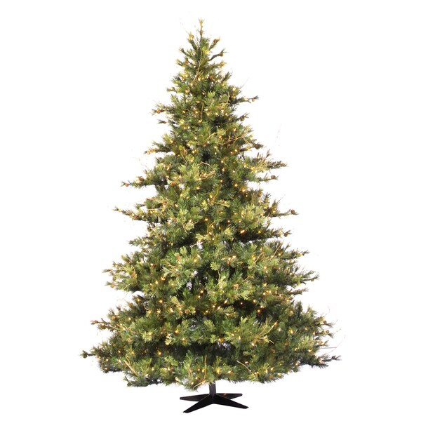 Shop 10 Foot X 76 Inches Mixed Country Pine Tree With 1450 Clear