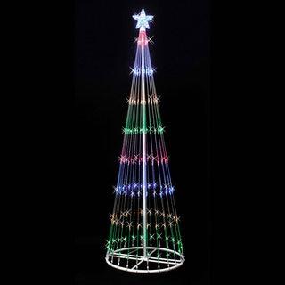 """LED 152 Multi Light Show Tree 4' x 24"""""""