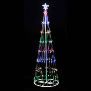 LED 152 Multi Light Show Tree 4' x 24""