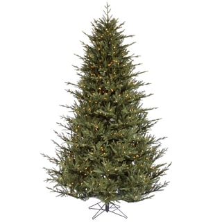 """9.5' x 76"""" Itasca Frasier Tree with 1300 Clear Dura-Lit Lights"""