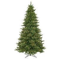 "9.5' x 66"" Camdon Fir Tree with 1350 Clear Dura-Lit Lights"