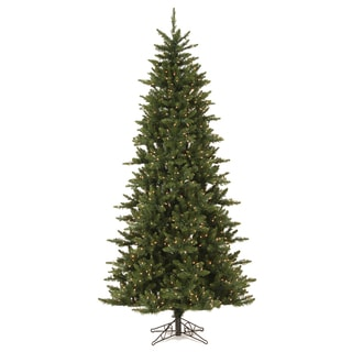 "9.5' x 54"" Camdon Fir Slim Tree with 1000 Warm White Lights"
