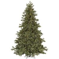 "9' x 74"" Frasier Fir Tree with 1200 Clear Dura-Lit Lights"