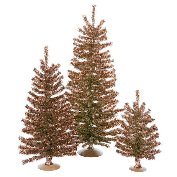 "12""/18""/24"" Mocha Mini Tree Set"