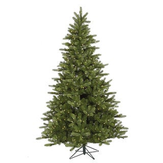 """12' x 83"""" King Spruce Tree with 1650 Warm White LED Lights"""
