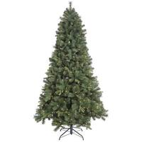 "9' x 64"" Classic Mixed Pine Tree with 900 Clear Lights"