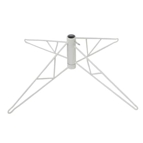 """28"""" White Tree Stand For 8.5 to 9.5 Foot Trees"""