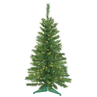 "3.5' x 21"" Prelit Imperial Pine Tree with 150 Clear Lights"