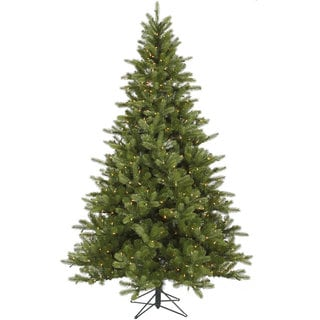 "7.5' x 56"" King Spruce Tree with 700 Clear Dura-Lit Lights"