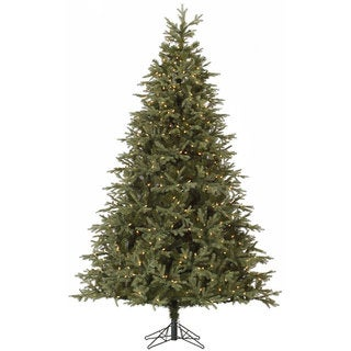"7.5' x 56"" Elk Frasier Fir Tree with 700 Clear Dura-Lit Lights"