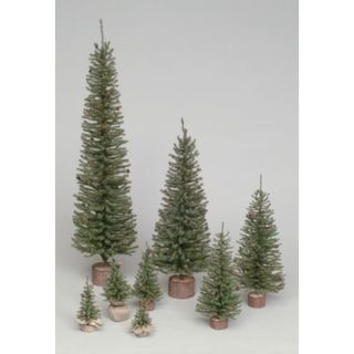 "32"" Carmel Pine Tree with Wood Base"