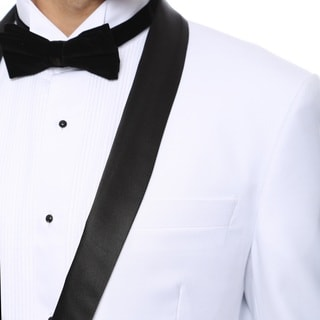 Zonettie by Ferrecci Men's Premium Slim Fit Shawl Collar 2-piece Tuxedo