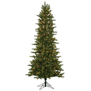 "7.5' x 42"" Kennedy Fir Slim Tree with 500 Clear Dura-Lit Lights"