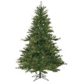 """6.5' x 53"""" Mixed Country Pine Tree with 1000 Tips"""