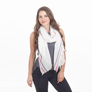 Striped Design Shawl