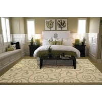 Rug Squared Waterbury Light Gold Rug (7'9 x 10'10)