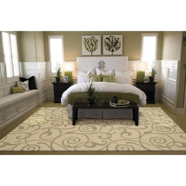 Rug Squared Waterbury Light Gold Rug (5'3 x 7'5)