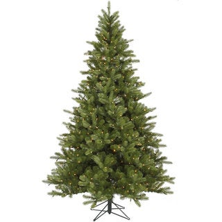"6.5' x 47"" King Spruce Tree with 350 Clear Dura-Lit Lights"