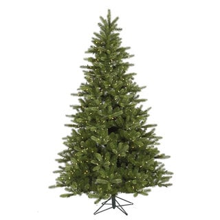 "6.5' x 47"" King Spruce Tree with 350 Warm White LED Lights"