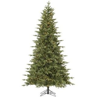 """4.5' x 34"""" Fresh Balsam Fir Tree with 200 Clear Dura-Lit Lights"""