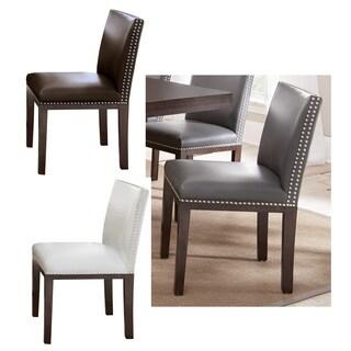 Oliver & James Hugo Hardwood Dining Chair (Set of 2)