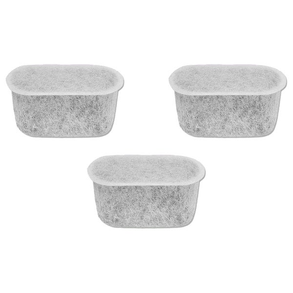 3pk Replacement Charcoal Water Filters, Fits Black & Decker 12 Cup Coffee Machines