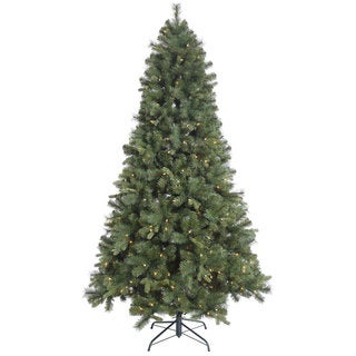 "4.5' x 34"" Classic Mixed Pine Tree with 150 Clear Lights"
