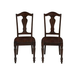 Country Comfort Dining Chairs (Set of 2) by Home Styles