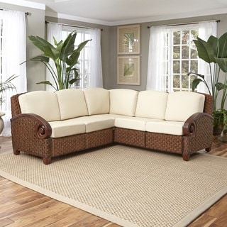 Home Styles Cabana Banana III L Shaped Sectional