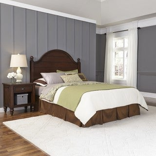 Country Comfort Headboard and Night Stand by Home Styles
