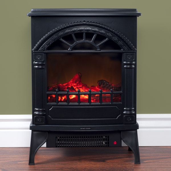 northwest freestanding electric log fireplace free