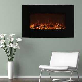 Wall Mounted Fireplaces For Less Overstock Com