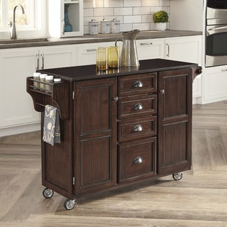 Home Styles Country Comfort Kitchen Cart