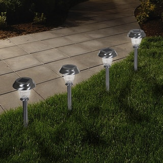 Buy Solar Lighting Online at Overstock.com | Our Best Outdoor ... on bike path striping, bike path sign, bike path gates, bike path walls, bike path construction, bike path barriers, bike path bridges, bike path railing, bike path paving, bike path wallpaper, bike path paint, bike path color, bike maintenance, bike path bollards, bike path garden, bike path safety, bike path art, bike path texture, bike path design, bike path markings,