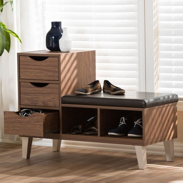 Super Baxton Studio Arielle Modern Contemporary Wood 3 Drawer Shoe Ocoug Best Dining Table And Chair Ideas Images Ocougorg