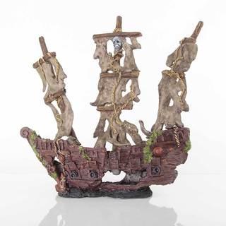 BioBubble Decorative Mystery Pirate Ship
