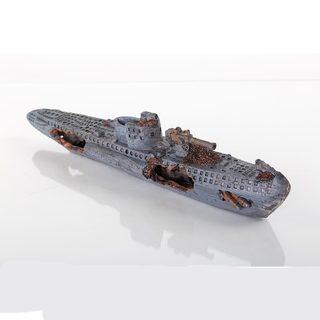 BioBubble Decorative Sunken U-Boat