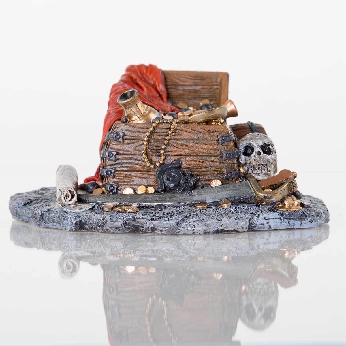 """Zune BioBubble Decorative Pirate Treasure (7.5"""" x 6"""" x 3...."""