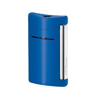 ST Dupont MiniJet Torch Flame Lighter -Blue Lacquer