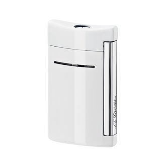 ST Dupont Minijet Optic White Torch Flame Lighter