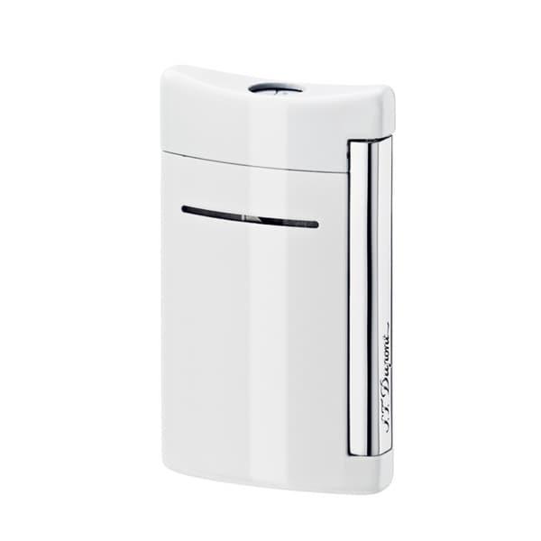 ST Dupont Minijet Optic White Torch Flame Lighter