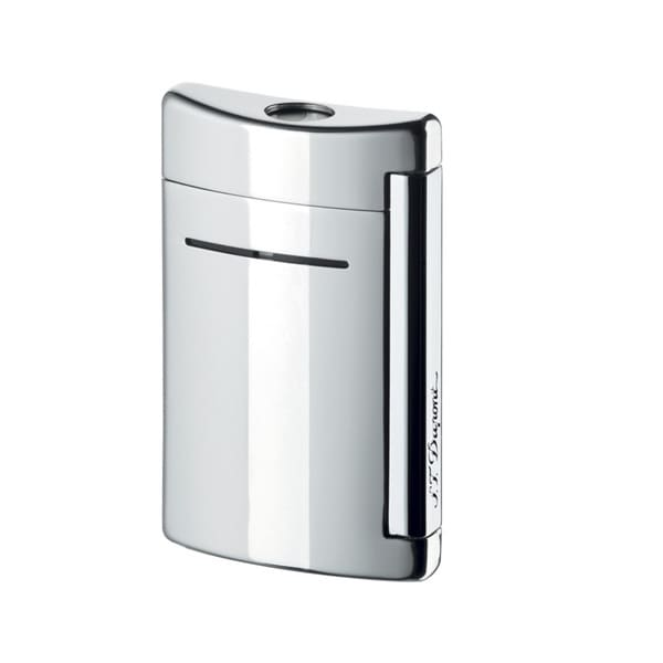 ST Dupont Minijet Chrome Grey Torch Flame Lighter